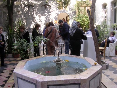 Courtyard, Aleppo art gallery