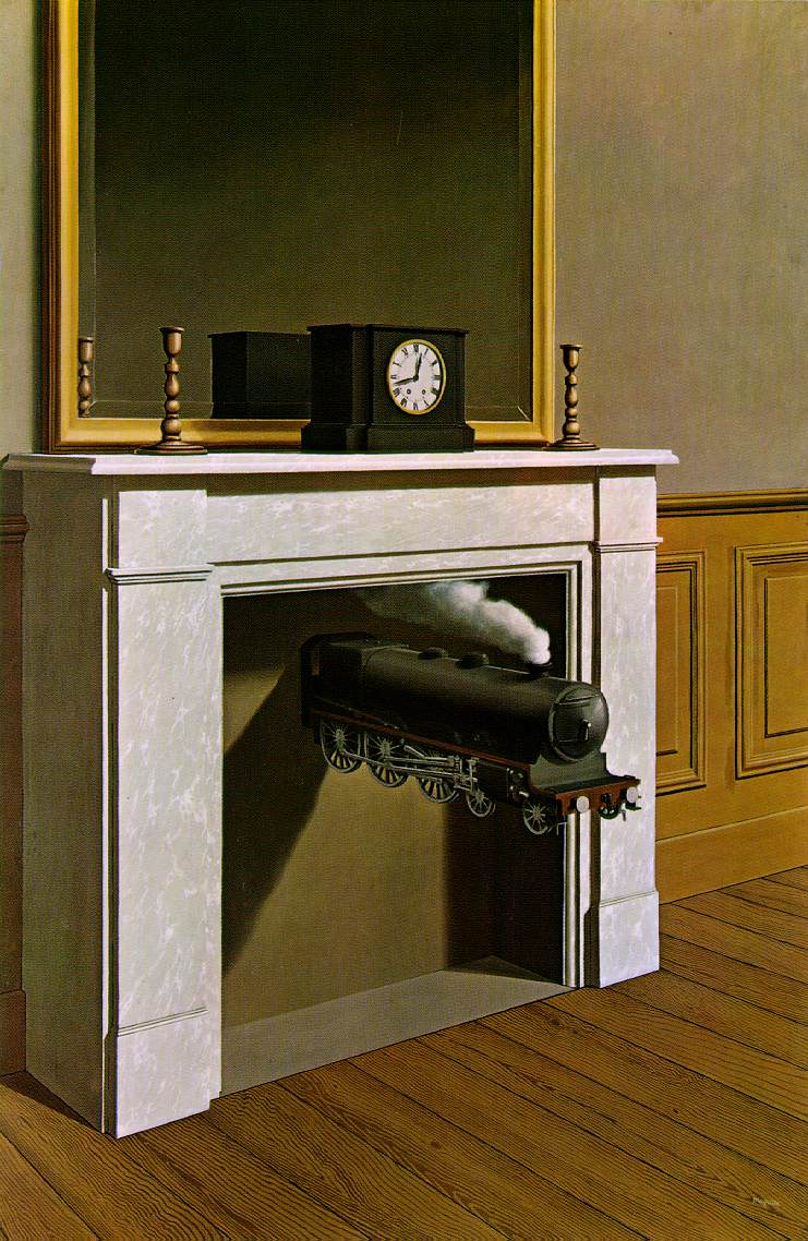 Rene Mgritte · Time Transfixed