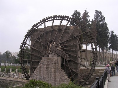 Wooden water wheel - Hama